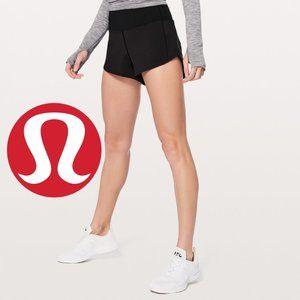 Lululemon Speed Shorts Wet-Dry-Warm - Size 4